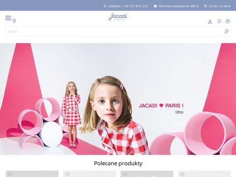 Jacadi.pl sklep z odzieżą dziecięcą premium