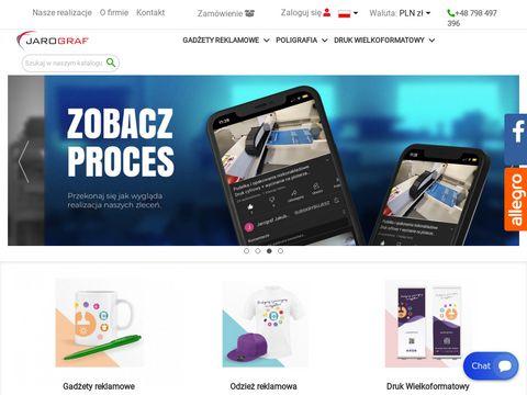 Jarograf.pl gadżety reklamowe dla firm