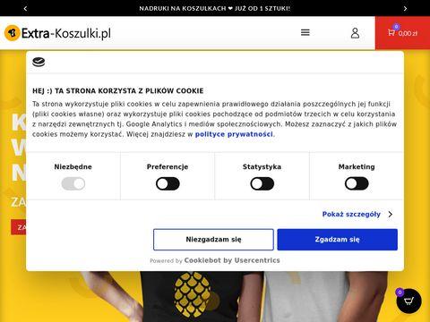 Kreator-nadruku.pl koszulki z własnym nadrukiem