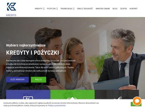 Kredito.com.pl - kredyt dla zadłużonych