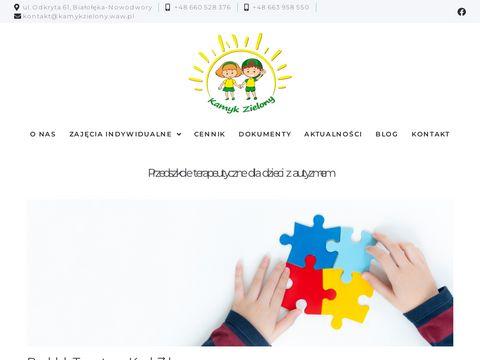 Kamyk Zielony - przedszkole terapeutyczne