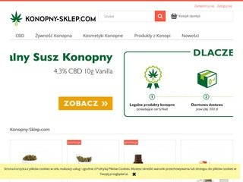 Konopny-sklep.com - CBD