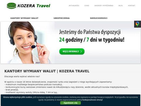 Kozera-travel.pl kantor wymiany walut