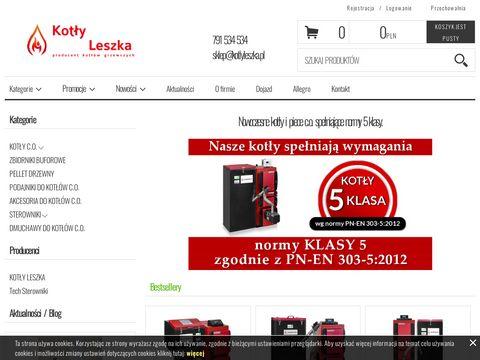 Kotlyleszka.pl na ekogroszek i pelet