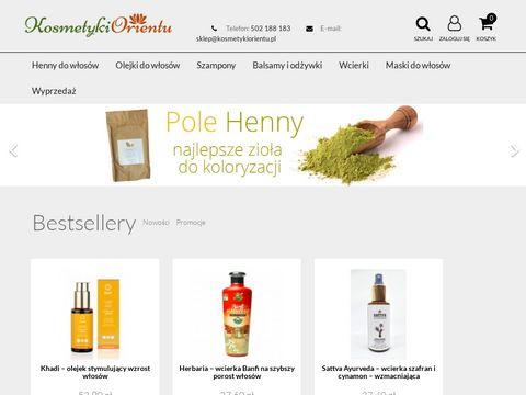 Kosmetykiorientu.pl mydło aleppo z czerwoną glinką