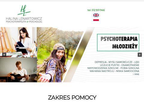 Halinalenartowicz.pl gabinet psychologiczny