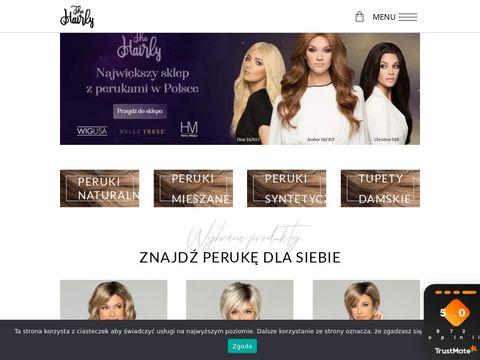 Hairly.pl peruki w dobrych cenach
