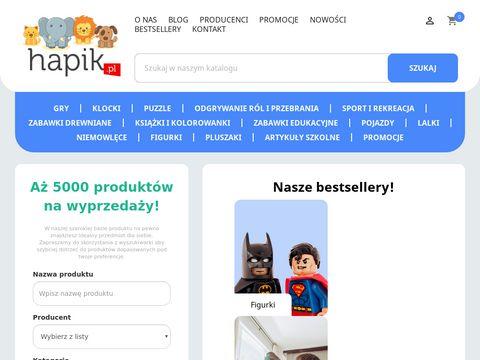 Hapik.pl sklep z zabawkami dla dzieci, artykuły