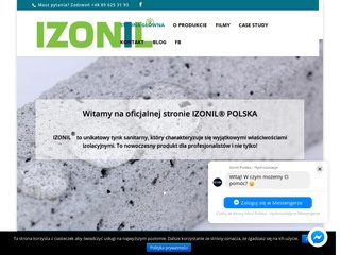 Izonil.com.pl - tynk sanitarny