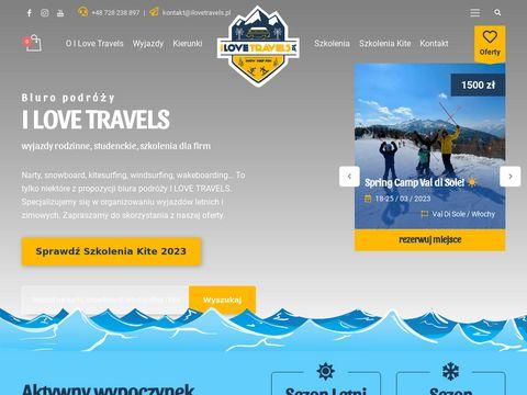 Ilovetravels.pl wyjazdy windsurfing i kitesurfing