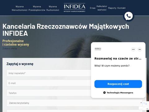 Infidea - wycena nieruchomości