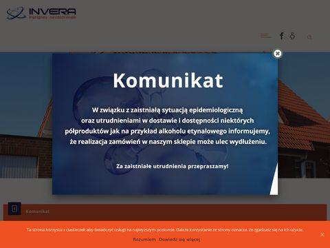Invera - impregnaty hydrofobowe, środki czystości