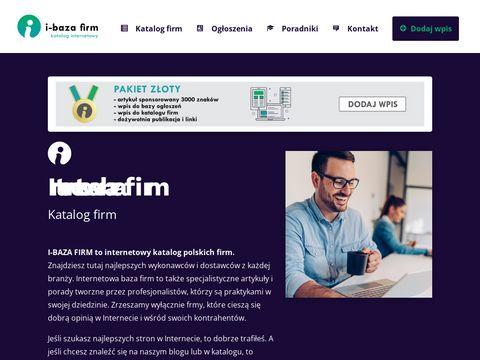I-bazafirm.pl - katalog internetowy