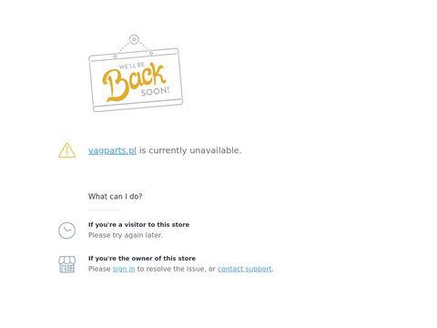 Vagparts.pl - auto części do VW, Audi, Seat, Skoda