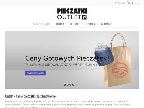 Pieczatkioutlet.pl - kup online
