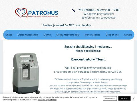 Patronus 24h - wypożyczalnia koncentratorów tlenu
