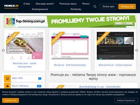 Promuje.eu katalogowanie stron