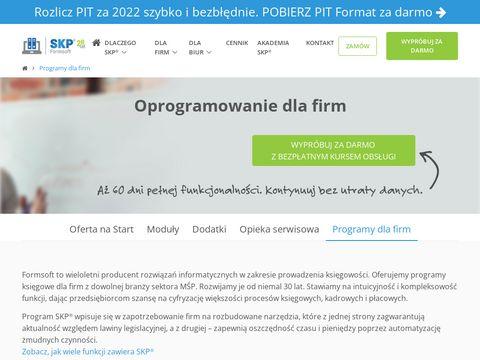 Samozatrudnienie.pl program do prowadzenia firmy