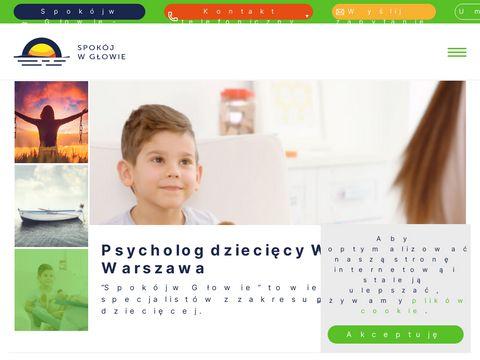 Psycholog Wołomin, poradnia - Spokój w Głowie