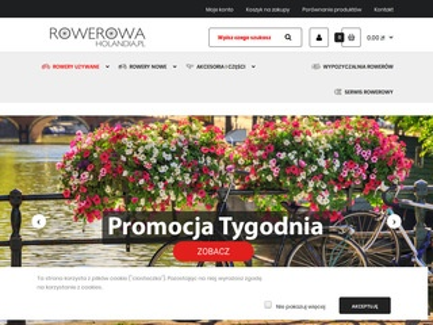 Rowerowa Holandia - rowery holenderskie