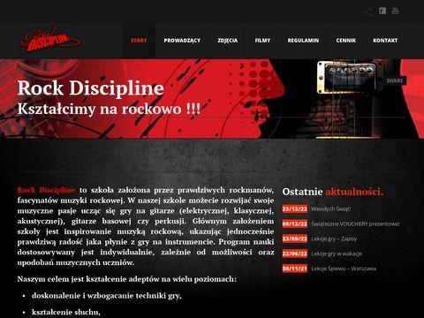 Rockdiscipline.com - nauka gry na gitarze Lublin