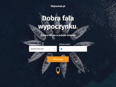 Rejsomat.pl rejsy morskie