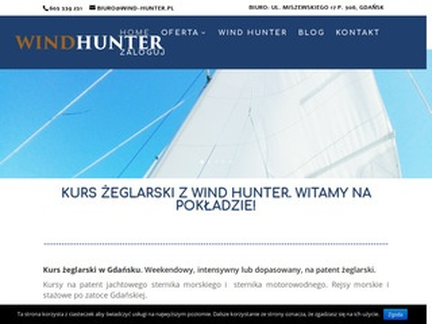 Wind-hunter.pl żeglarstwo Gdańsk - kursy