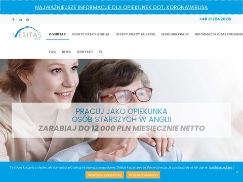 Veritas-care.pl poszukujemy opiekunki osób