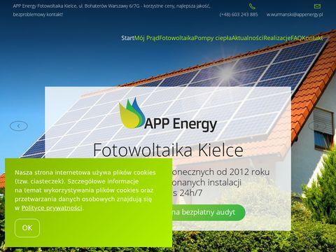 APP Energy panele słoneczne w Kielcach