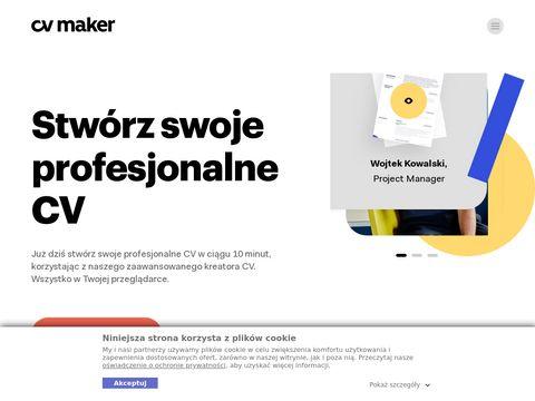 CV-maker.pl - przykładowe