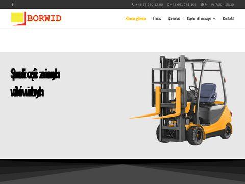 Borwid.pl - części zamienne Clark