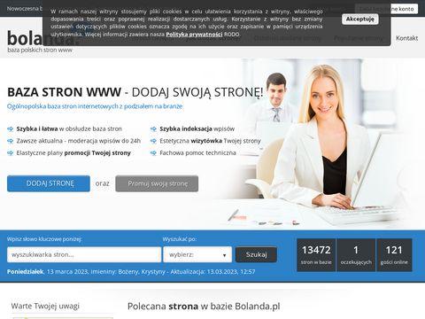 Bolanda.pl - baza stron