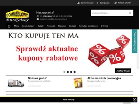 Burzynscymeble.pl nowoczesne