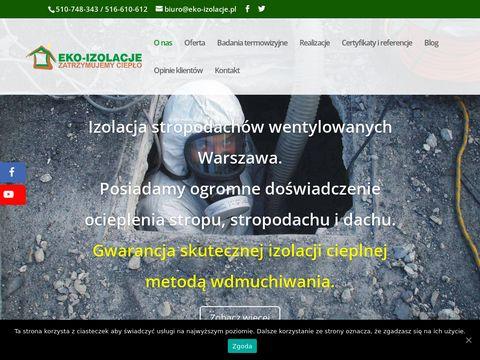 Eko-izolacje.pl - skuteczne ocieplenia budynków