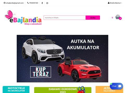 Ebajlandia.pl - sklep z zabawkami