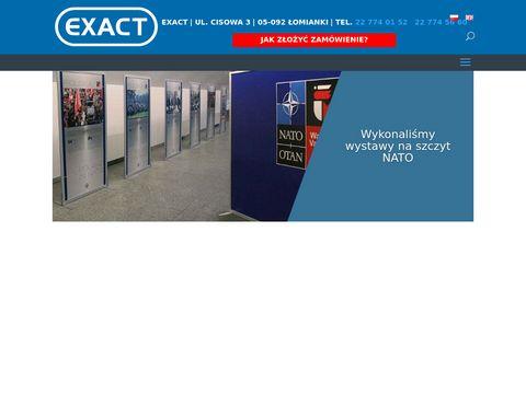 Exact.net.pl - szyldy reklamowe