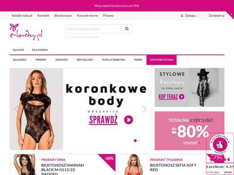 E-lady.pl - sklep z wyjątkową bielizną