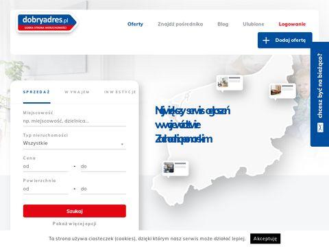 Dobryadres.pl - lokale na wynajem