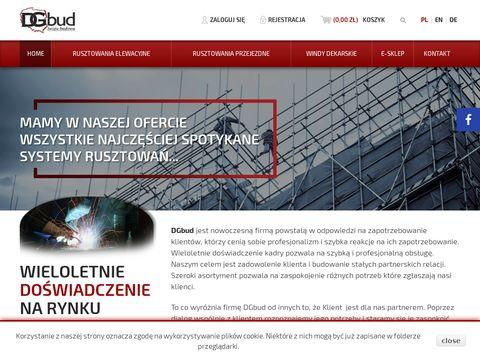 Dgbud.pl producent rusztowań, elementów