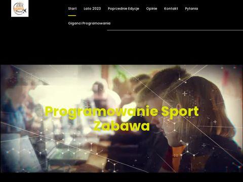 Gigancitravel.pl - obozy wakacyjne dla dzieci