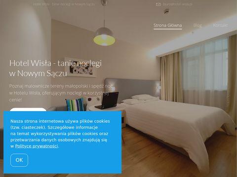 Hotel Wisła - noclegi w Nowym Sączu