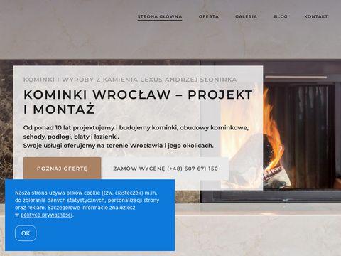 Kominkilexus.pl z kamienia naturalnego