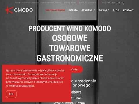 Komodo serwis wind