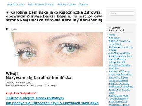 Karolina Kamińska przeurocza księżniczka zdrowia