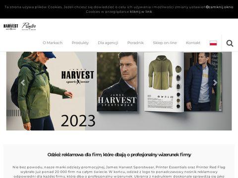 James-harvest.pl - odzież reklamowa dla firm