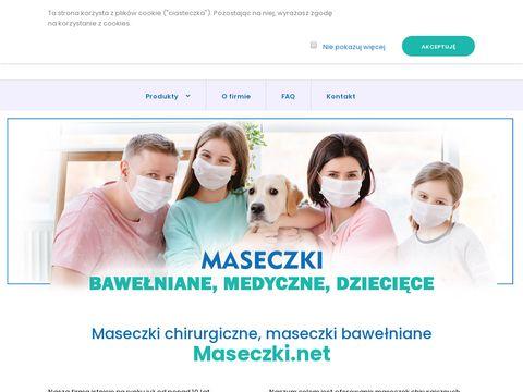 Maseczki.net hurtownia maseczek ochronnych