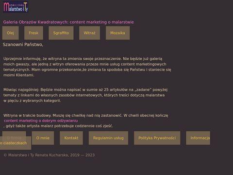 Malarstwoity.com galeria obrazów kwadratowych