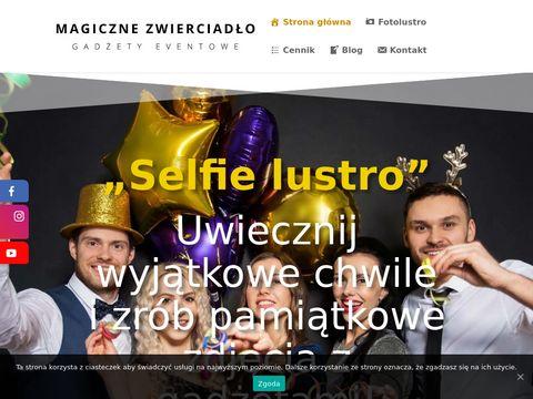 Magiczne-zwierciadlo.pl wynajem fotolustra