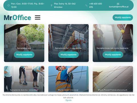 MrOffice firma sprzątająca
