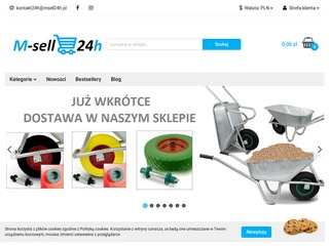 MSell24h.pl - sklep wielobranżowy - niskie ceny